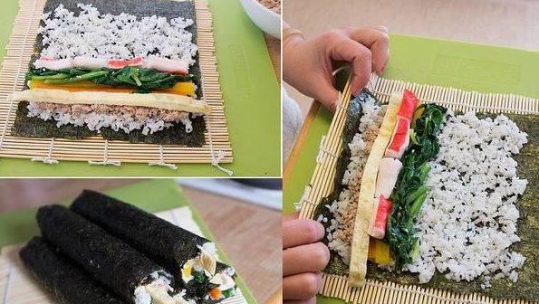 cach-lam-sushi cách làm sushi Cách làm sushi ngon nhất cùng thưởng thức cuối tuần cach lam sushi viet nam 2 e1568097357514