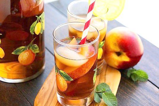 tra-dao-cam-sa trà đào cam sả Cách làm trà đào cam sả ngon mát trời hè cach lam tra dao