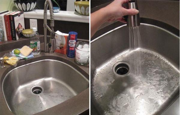 mẹp tẩy rửa đồ dùng nhà bếp