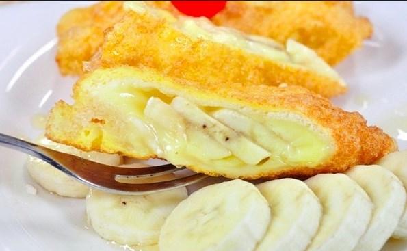 banh-chuoi-nuong-pho-mai bánh chuối nướng phô mai Bánh chuối nướng phô mai dễ làm mà chén cực ngon ob a3a063 banh chuoi nuong pho mai thom ngon 1