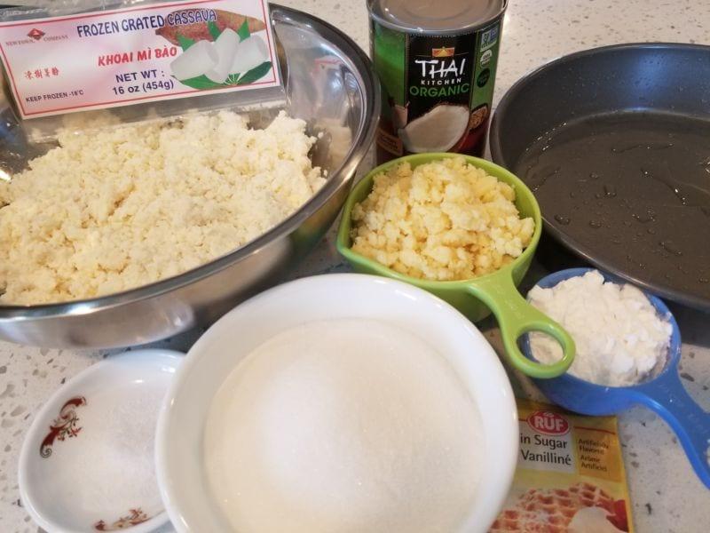 banh-tam-khoai-mi bánh tằm khoai mì Cách làm bánh tằm khoai mì cực độc lạ hấp dẫn PN Banh khoai mi nuong 01