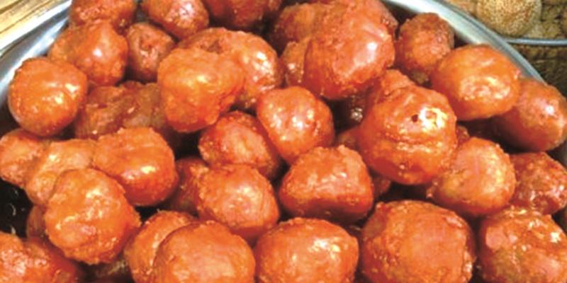 bánh rán mật ong bánh rán mật Cách làm bánh rán mật ong ngon ngọt, đậm đà hương vị banh ran mat