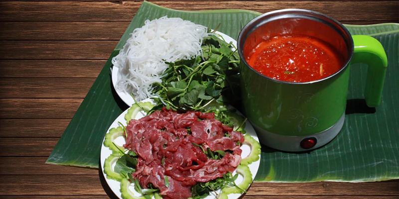 Bò nhúng ớt bò nhúng ớt Cách làm bò nhúng ớt Đà Nẵng ăn một lần là nhớ suốt đời bo nhung ot