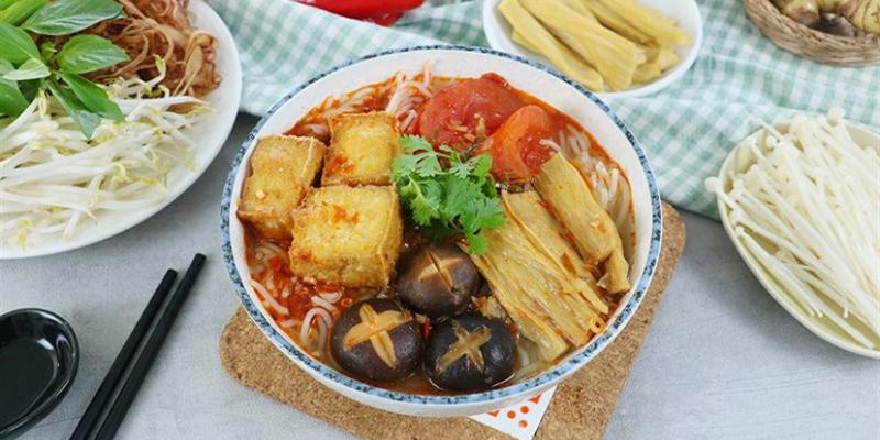 Bún thái bún thái Cách nấu bún Thái cực chuẩn hương vị người Thái bun thai