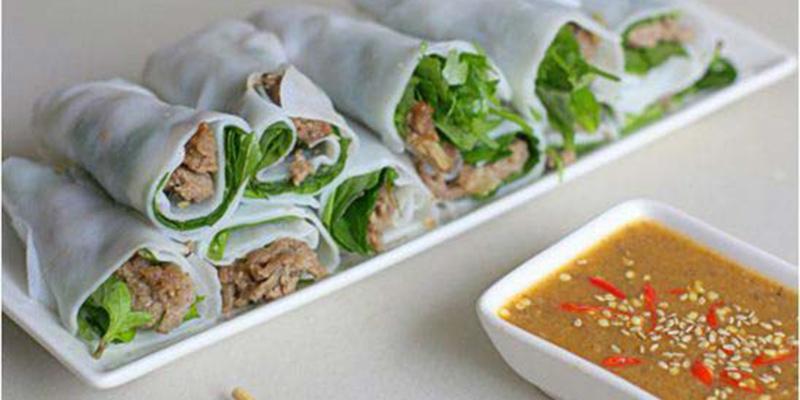 bánh ướt thịt nướng bánh ướt thịt nướng Hướng dẫn làm bánh ướt thịt nướng chuẩn chỉnh vị xứ Huế cach lam banh uot thit nuong thom ngon