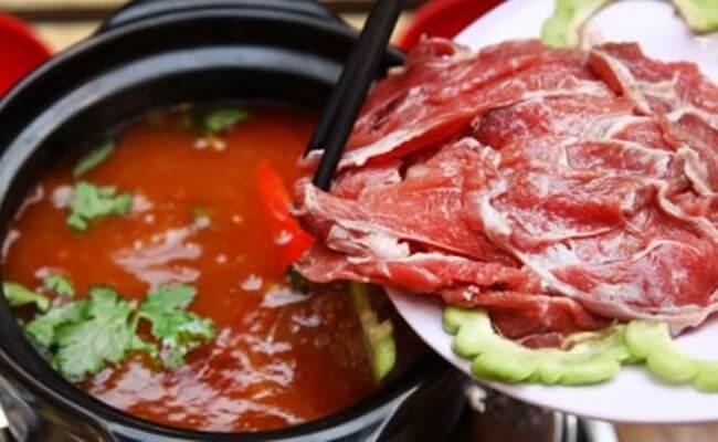 bo-nhung-ot bò nhúng ớt Cách làm bò nhúng ớt Đà Nẵng ăn một lần là nhớ suốt đời cach lam bo nhung ot ngon