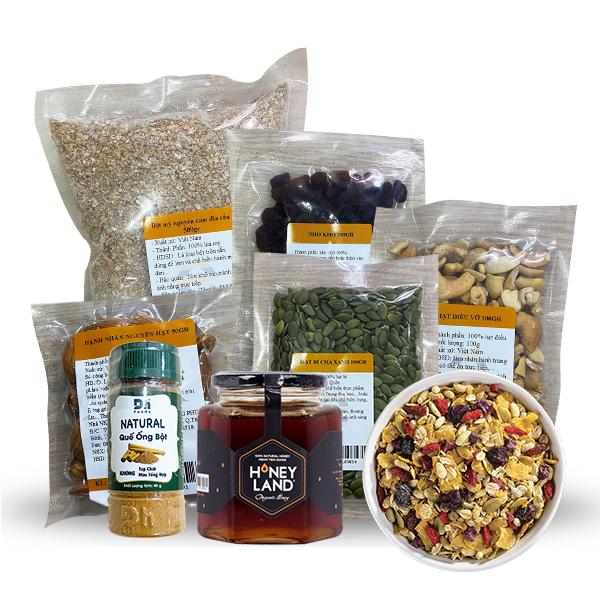cách làm granola Top 3 cách làm Granola cực ngon không béo đơn giản tại nhà cach lam granola 1