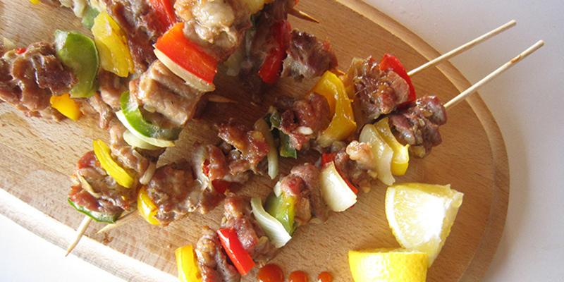 Thịt xiên nướng thịt xiên nướng rau củ Hướng dẫn cách làm thịt xiên nướng rau củ cực ngon cho tiệc nướng cach lam thit xien nuong rau cu