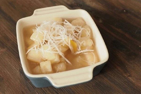 che-khoai-mi chè khoai mì Hướng dẫn cách nấu chè khoai mì dẻo ngọt cho ngày lạnh che khoai mi ngot bui