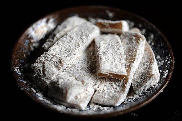 che-lam chè lam Cách làm chè lam dẻo ngọt nhâm nhi trà chiều che lam ngot ngao