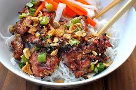 bun-thit-nuong bún thịt nướng Cách làm bún thịt nướng đúng chuẩn vị Hà Nội ngon hết ý ta  i xuo    ng 64