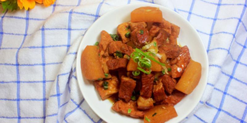 Thị kho thịt kho đậu hũ Cách làm thịt kho đậu hũ đưa cơm ngày se lạnh thit kho 1