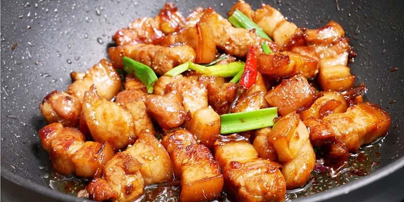 Thịt kho thịt kho cháy cạnh Hướng dẫn cách làm thịt kho cháy cạnh đậm đà đưa cơm thit kho chay canh 1