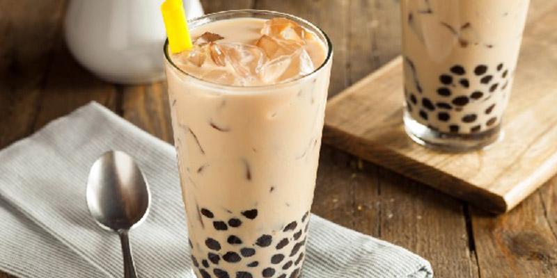 Trà sữa trân châu trà sữa trân châu vị socola Cách làm trà sữa trân châu vị socola thơm ngon khó cưỡng tra sua tran chau socola 1