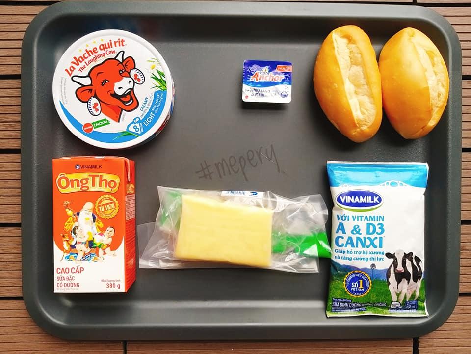 Cách làm bánh mì bơ sữa phô mai Hạ Long chuẩn vị tại nhà