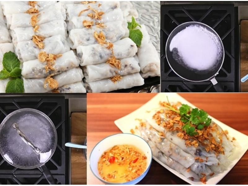 Cách làm bánh cuốn tại nhà thơm ngon