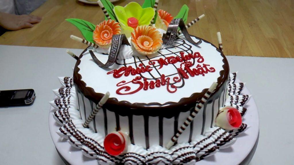 Bánh sinh nhật đẹp với những cách trang trí siêu đơn giản