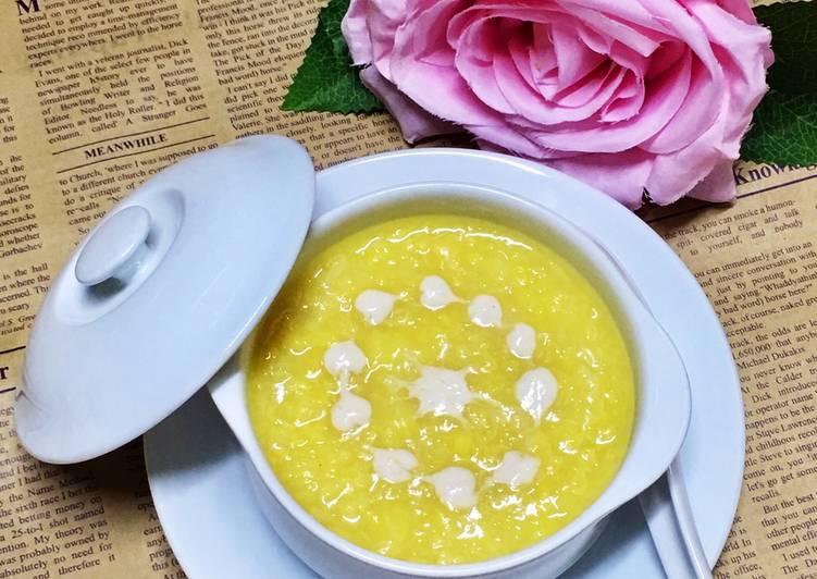 Cách nấu chè đậu xanh đánh nước cốt dừa béo thơm