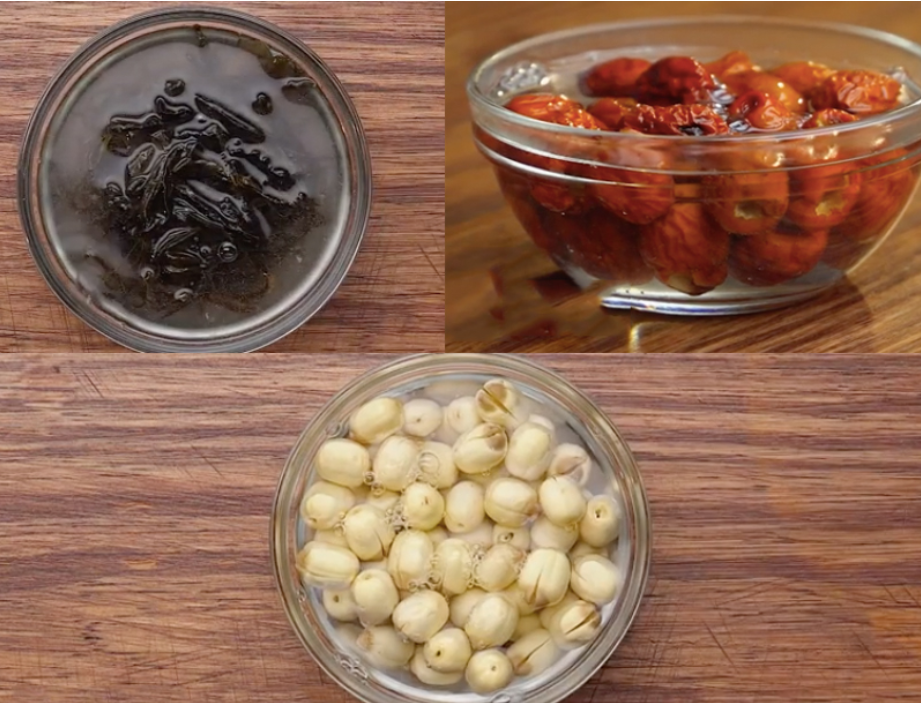 Sơ chế nguyên liệu để chuẩn bị thực hiện cách nấu sâm bổ lượng tại nhà cách nấu sâm bổ lượng Cách nấu sâm bổ lượng cực đơn giản ngay tại nhà cach nau sam bo luong 0