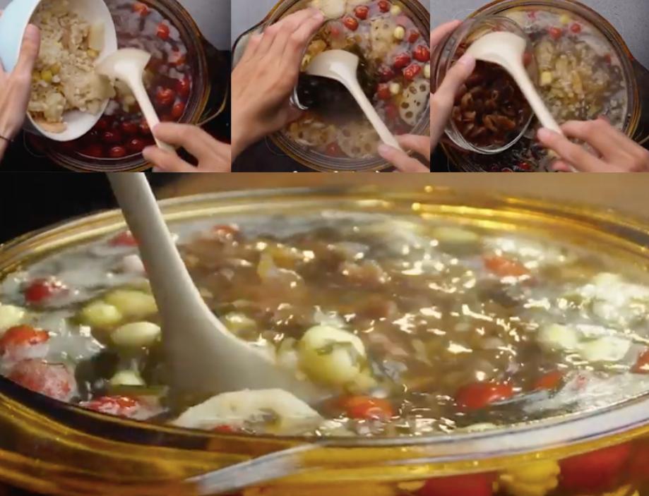 Thực hiện cách nấu sâm bổ lượng tại nhà cách nấu sâm bổ lượng Cách nấu sâm bổ lượng cực đơn giản ngay tại nhà cach nau sam bo luong 3