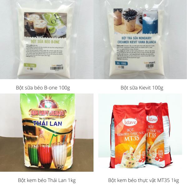 nguyên liệu làm trà sữa tại nhà [HOT] Nguyên liệu làm trà sữa tại nhà cho ly trà sữa ngon đúng điệu B   t kem b  o 1