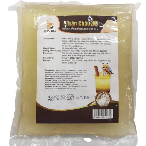 nguyên liệu làm trà sữa tại nhà [HOT] Nguyên liệu làm trà sữa tại nhà cho ly trà sữa ngon đúng điệu Tr  n ch  u 3q ng   c trai 1kg