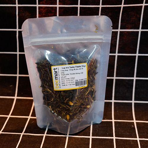 nguyên liệu làm trà sữa tại nhà [HOT] Nguyên liệu làm trà sữa tại nhà cho ly trà sữa ngon đúng điệu luc tra xuan thinh 50g