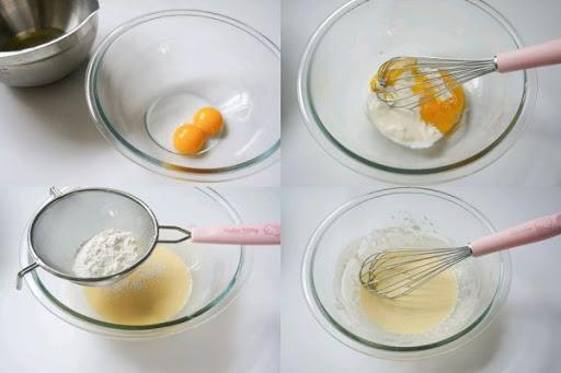Làm vỏ bánh crepe bánh đào đại phúc Bánh đào đại phúc biến tấu siêu dễ thương từ bánh crepe trái cây banh dao dai phuc bien tau sieu thuong banh crepe trai cay 5