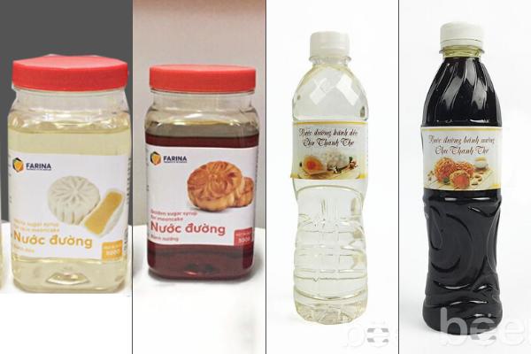 Các loại nước đường làm bánh trung thu