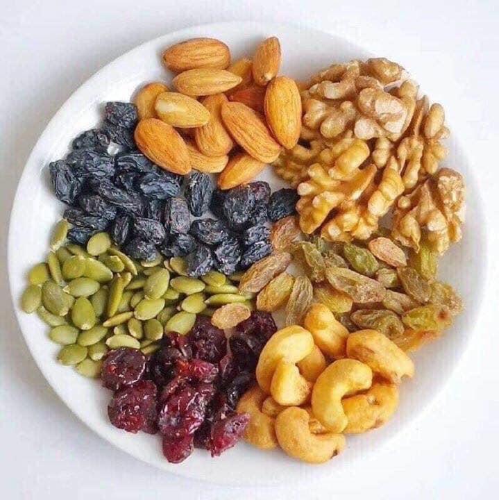 các loại hạt, ngũ cốc để làm bánh trung thu