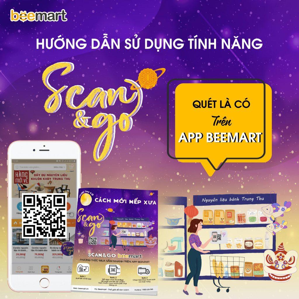 tính năng mua sắm tính năng mua sắm Hướng dẫn sử dụng tính năng mua sắm Scan & Go – Quét là có trên App Beemart huong dan su dung scan go 1 1024x1024