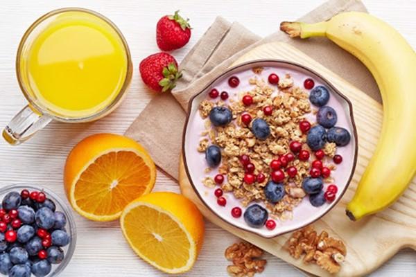 ăn vặt healthy