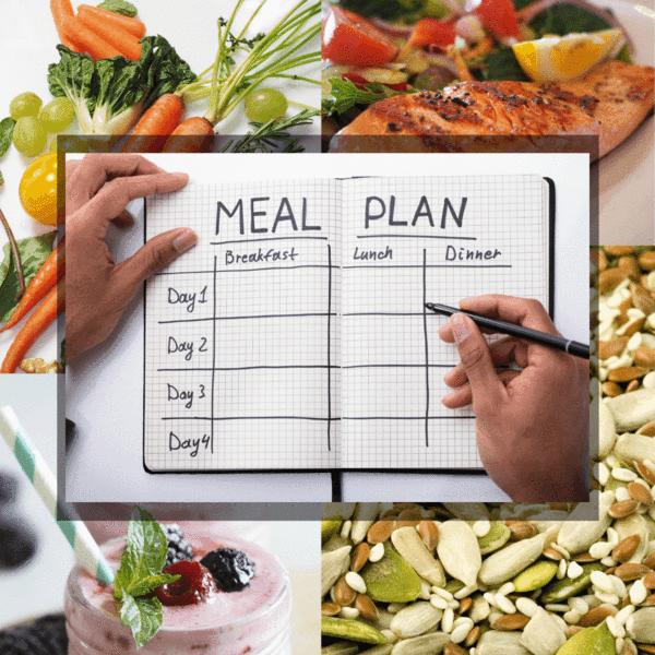 bữa ăn healthy - lên kế hoạch