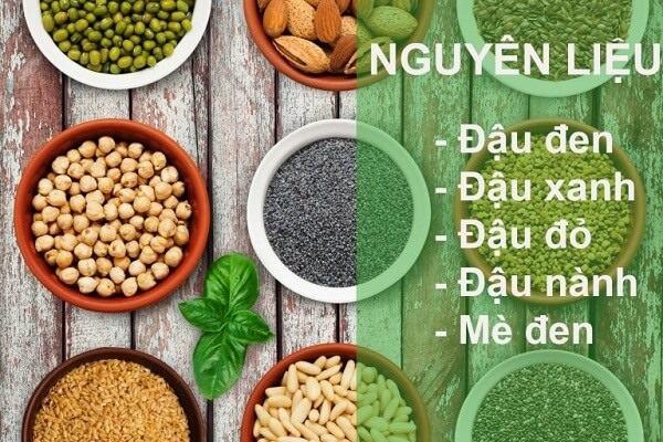 cách làm bột ngũ cốc