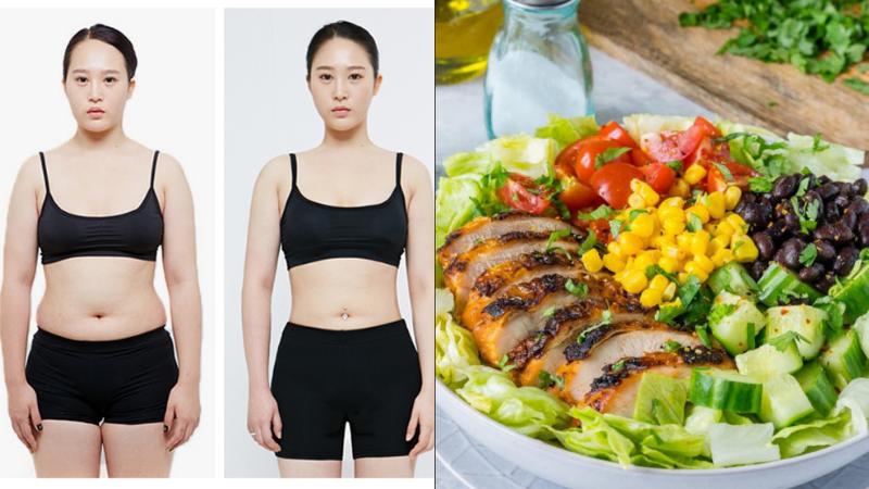 bữa ăn healthy giảm cân Bật mí thực đơn bữa ăn healthy giảm cân cực hiệu quả bua an healthy giam can8