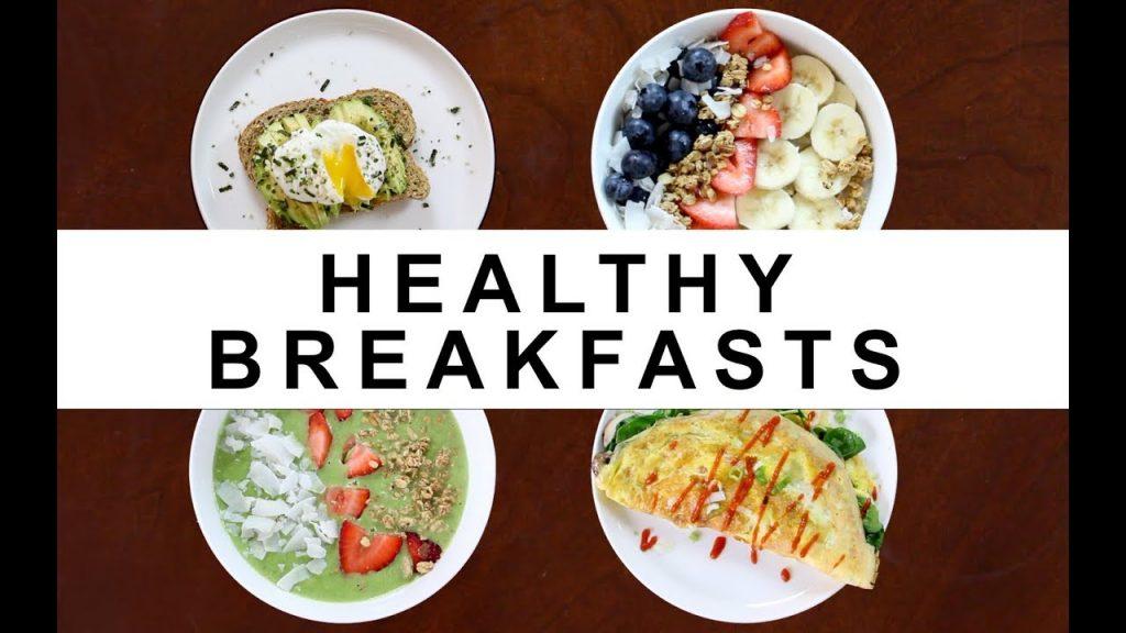 bữa ăn sáng healthy