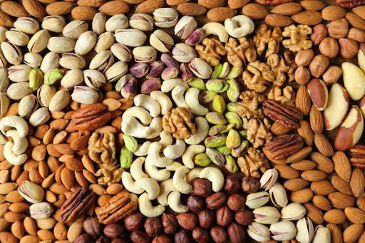 hạt dinh dưỡng bữa ăn healthy giảm cân Bật mí thực đơn bữa ăn healthy giảm cân cực hiệu quả hat dinh duong