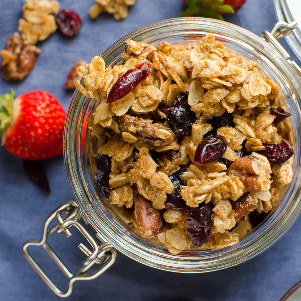 Granola - ăn vặt không béo