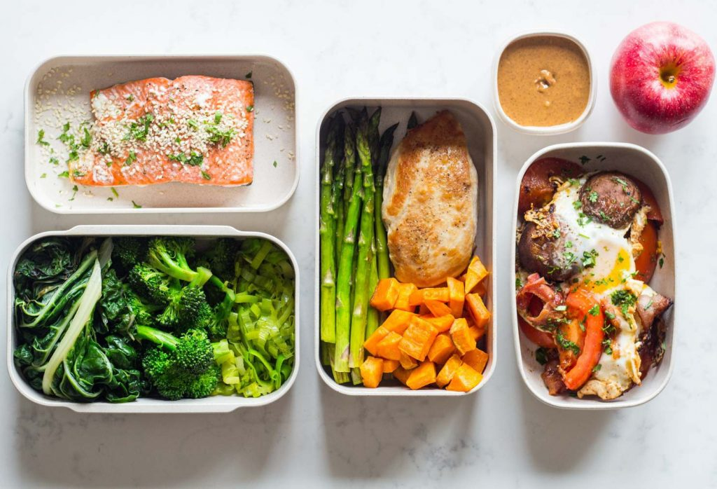 bữa trưa dinh dưỡng