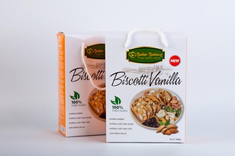biscotti hương vanilla