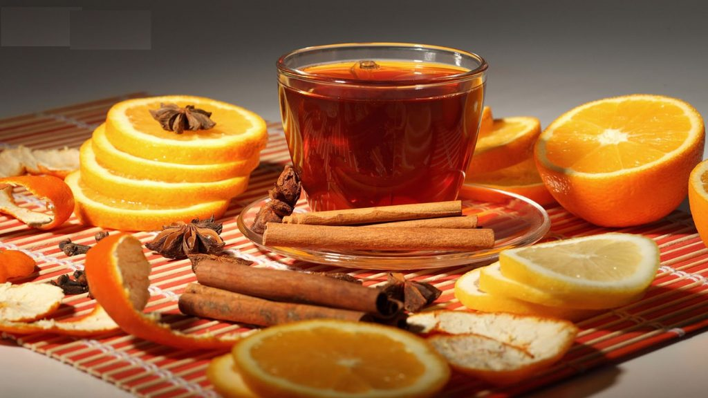 cách làm trà cam quế