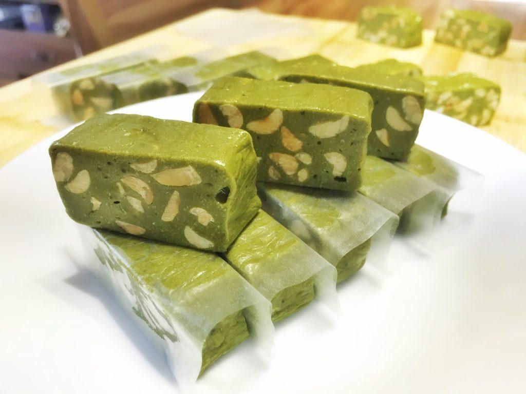 keo-nougat-tra-xanh kẹo nougat trà xanh Kẹo Nougat trà xanh – tinh hoa của đất nước mặt trời mọc IMG 2525 1024x768