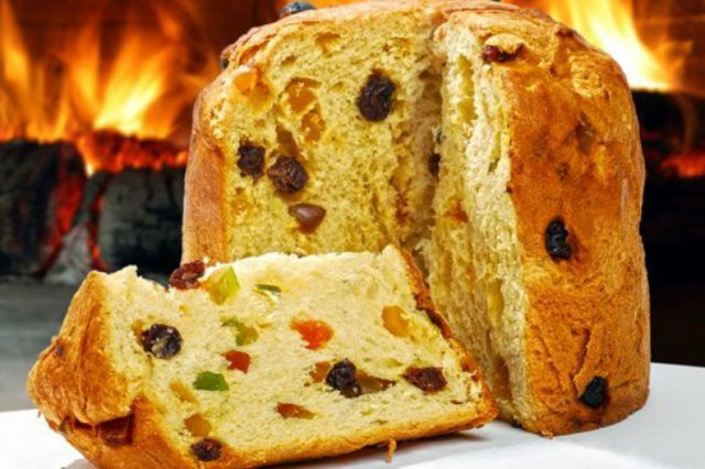 Cách làmbánh Panettone cách làm bánh panettone Cách làm bánh Panettone bằng bột trộn sẵn tiện lợi, siêu thơm ngon Panettone b