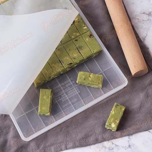 keo-nougat-tra-xanh kẹo nougat trà xanh Kẹo Nougat trà xanh – tinh hoa của đất nước mặt trời mọc bo dung cu lam keo nougat