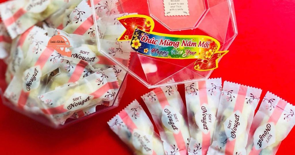 giấy gói kẹo Nougat