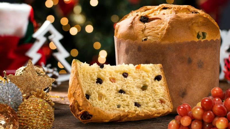 cách làm bánh panettone Cách làm bánh Panettone bằng bột trộn sẵn tiện lợi, siêu thơm ngon panettone e